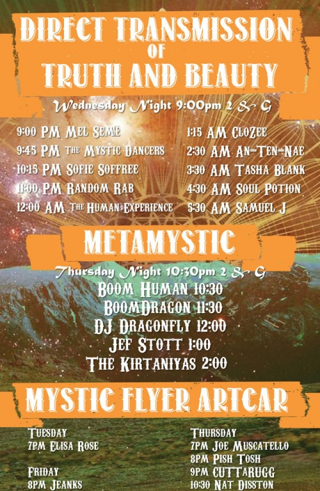 Camp Mystic Party Poster 2019